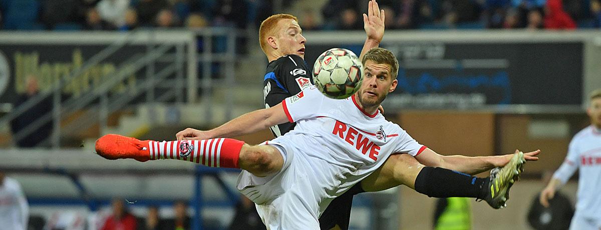 SC Paderborn - 1. FC Köln: SCP wartet auf die Trendwende á la Köln