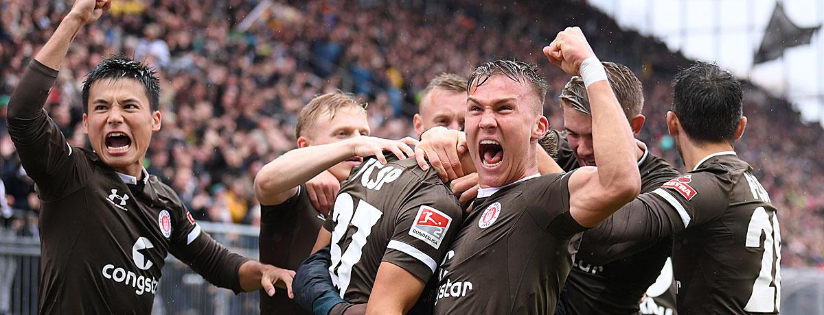 FC St. Pauli - Eintracht Frankfurt: Millerntor eine hohe Hürde für die SGE