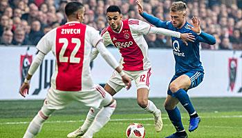 Ajax Amsterdam - Feyenoord Rotterdam: Die Gäste stecken in der Krise