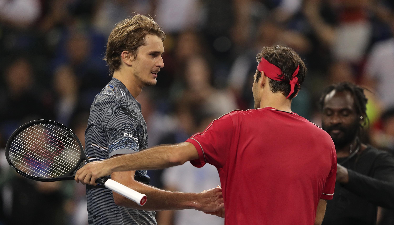 Shanghai Masters: Zverev schlägt Federer – Halbfinale!