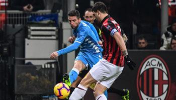 AC Mailand - SSC Neapel: Duell der Sorgenkinder
