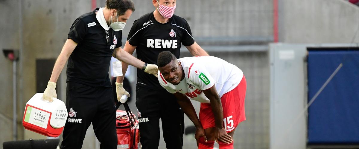 1. FC Köln Jhon Cordoba Verletzung