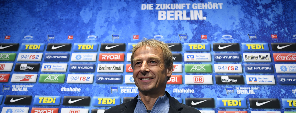 Neuer Hertha-Trainer - 2. Anlauf für Jürgen Klinsmann als Bundesliga-Coach