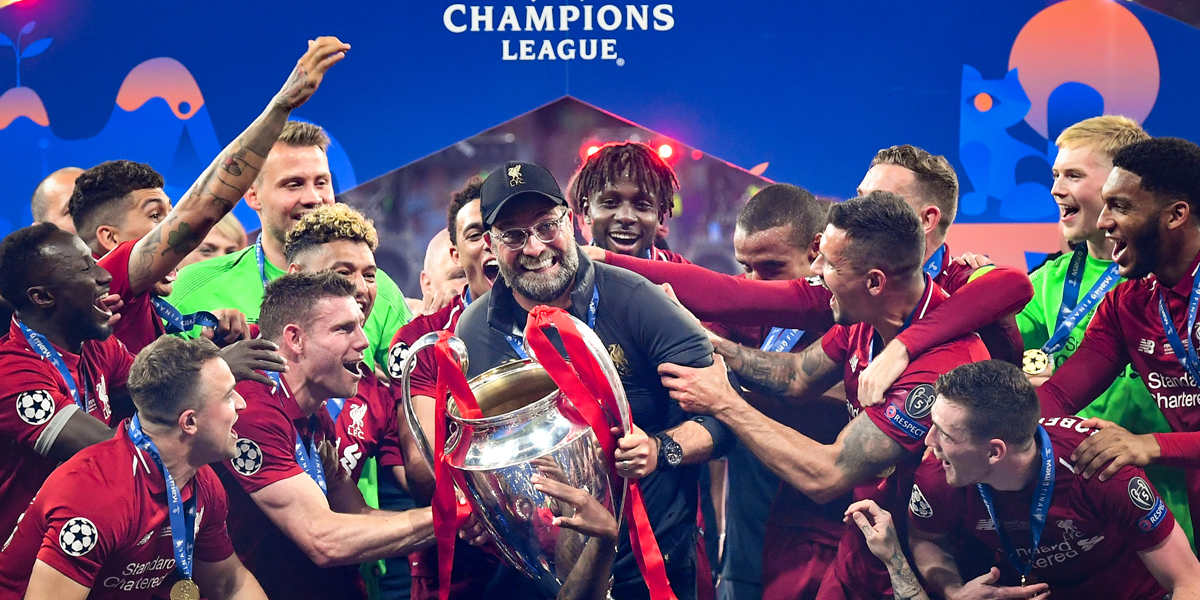 FC Liverpool Champions League Sieger 2019