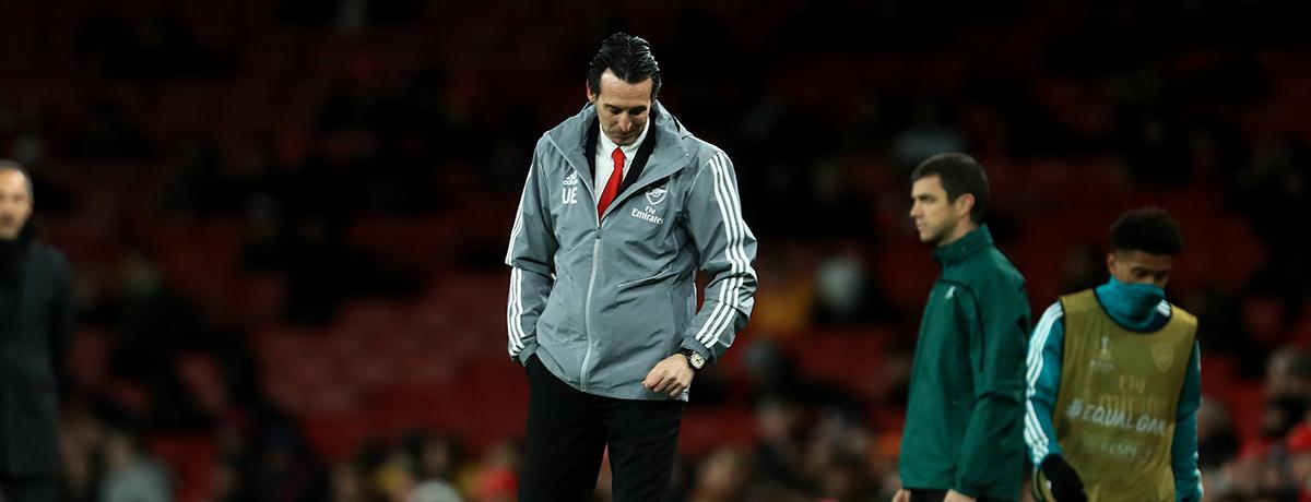 Arsenal London: Frankfurt der Sargnagel für Emery