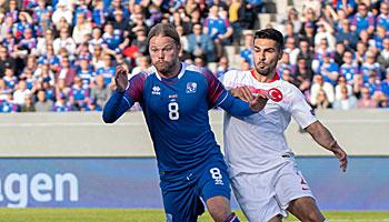 Türkei – Island: Gastgebern reicht ein Punkt zur Qualifikation