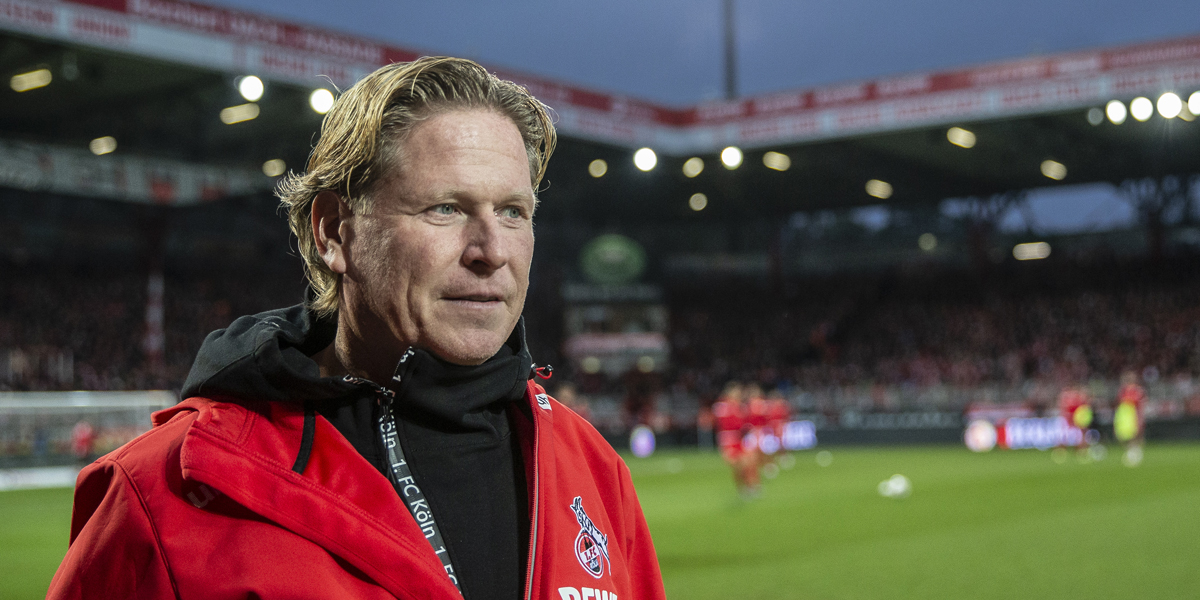 Markus Gisdol Trainer 1. FC Köln