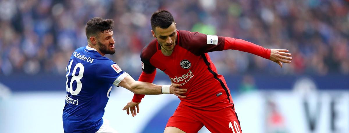 Eintracht Frankfurt - Schalke 04 Bundesliga 2019/20