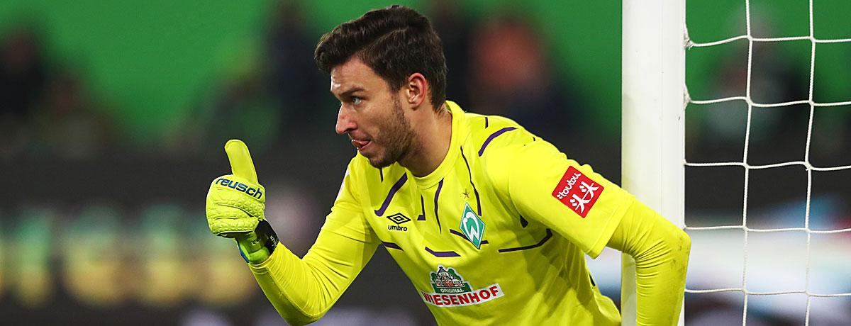 Jiri Pavlenka Werder Bremen 2019/20 Bundesliga