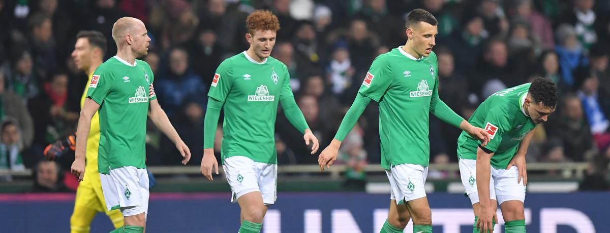 Bundesliga: Werder Bremen in historischer Krise!