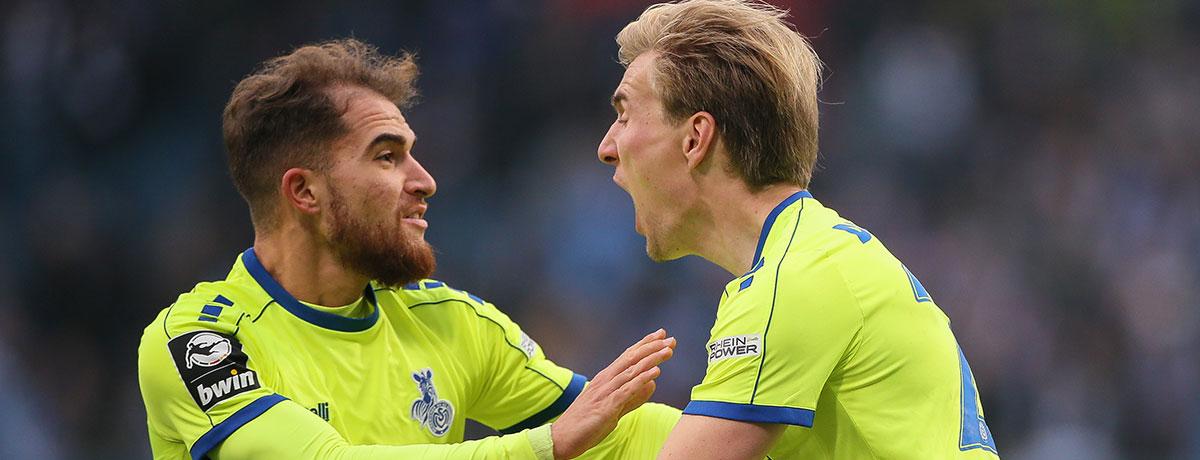 MSV Duisburg - FC Ingolstadt: Duell der Tormaschinen