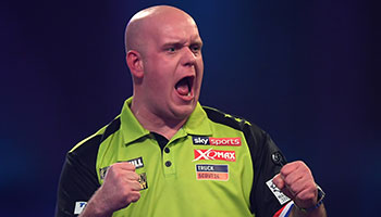 Darts World Grand Prix: Wer stürzt van Gerwen?