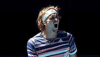 Australian Open 2020: Zverev zieht ins Grand-Slam-Halbfinale ein