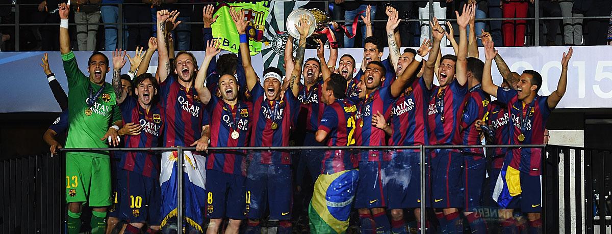 FC Barcelona Champions League Sieger
