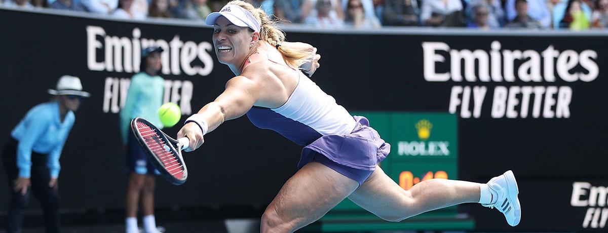 Australian Open 2020: Kerber letzte verbliebene Siegerin