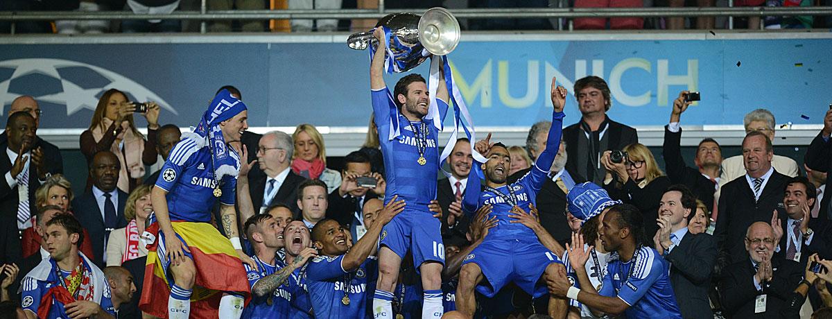 Juan Mata Champions League Sieger Chelsea