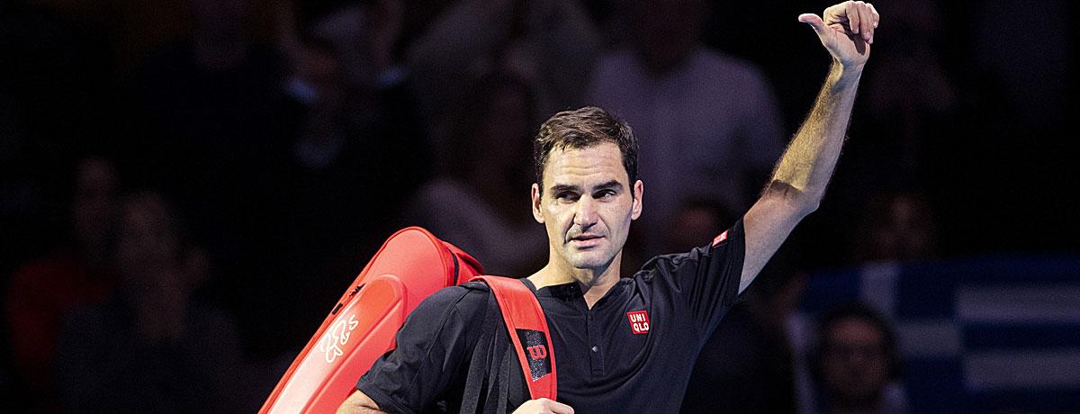 Roger Federer Turnierplan 2020