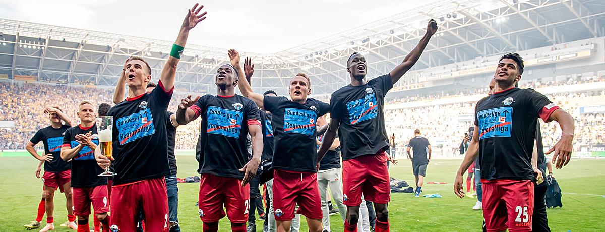 SC Paderborn: Zwischen Auf- und Abstiegen