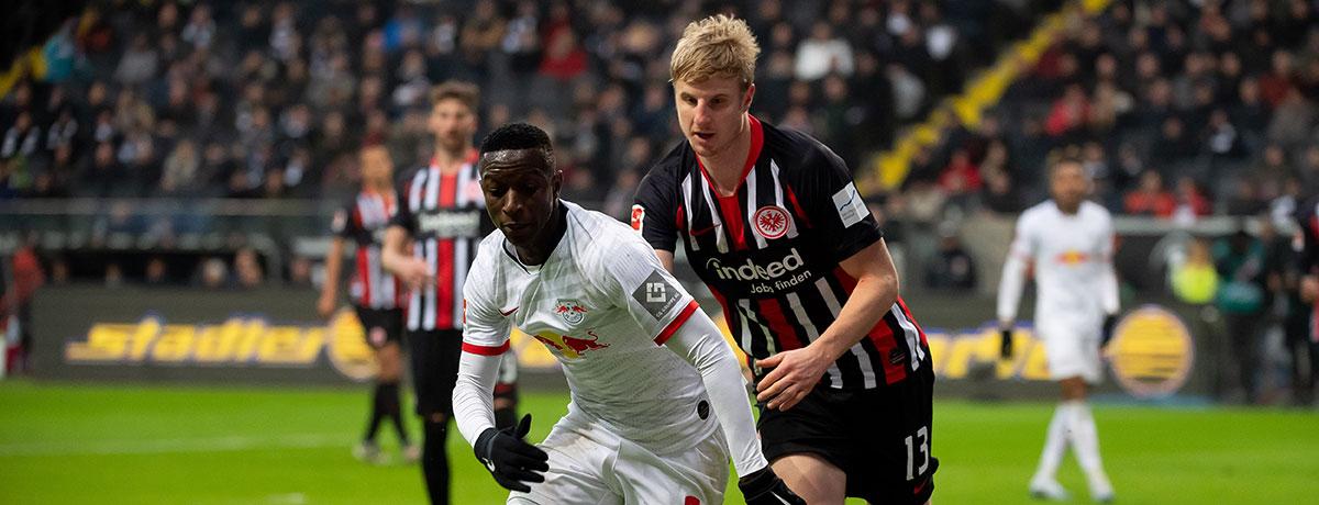 Eintracht Frankfurt - RB Leipzig: RB-Chance zur Revanche