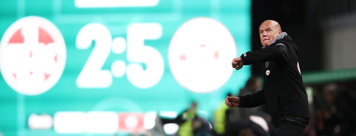 Nach 24 Jahren: Uwe Rösler führt Fortuna Düsseldorf ins DFB-Pokal-Viertelfinale