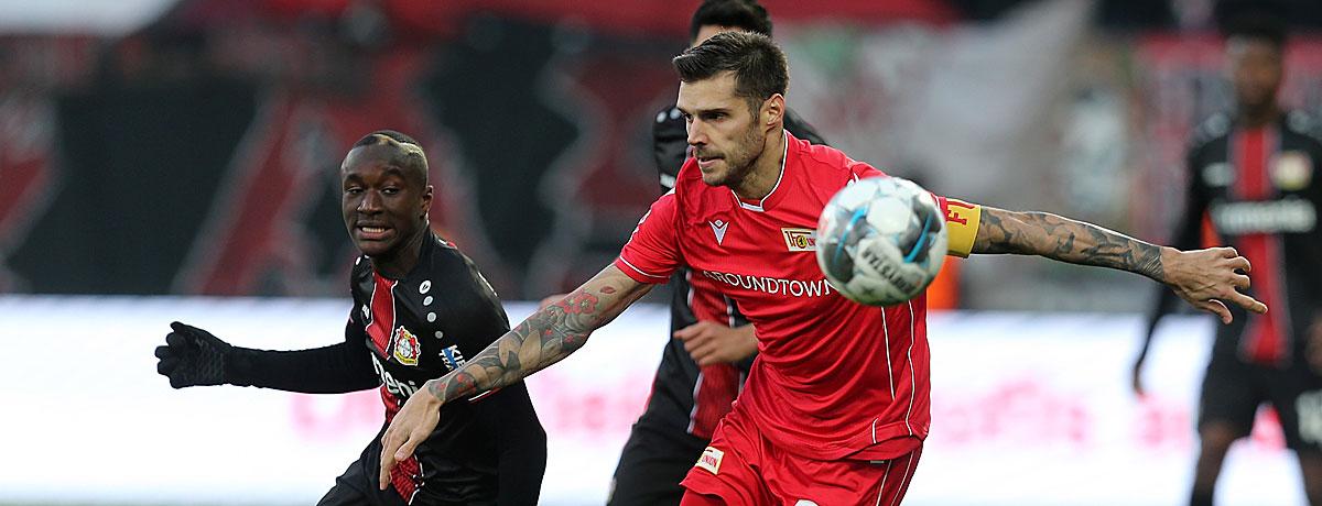 Bayer Leverkusen - Union Berlin: Werkself mit Favoriten-Bürde