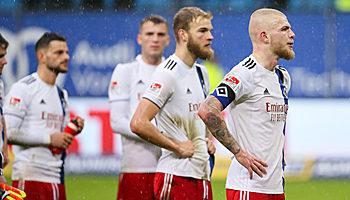 Aufstieg in die Bundesliga: Der HSV taumelt erneut
