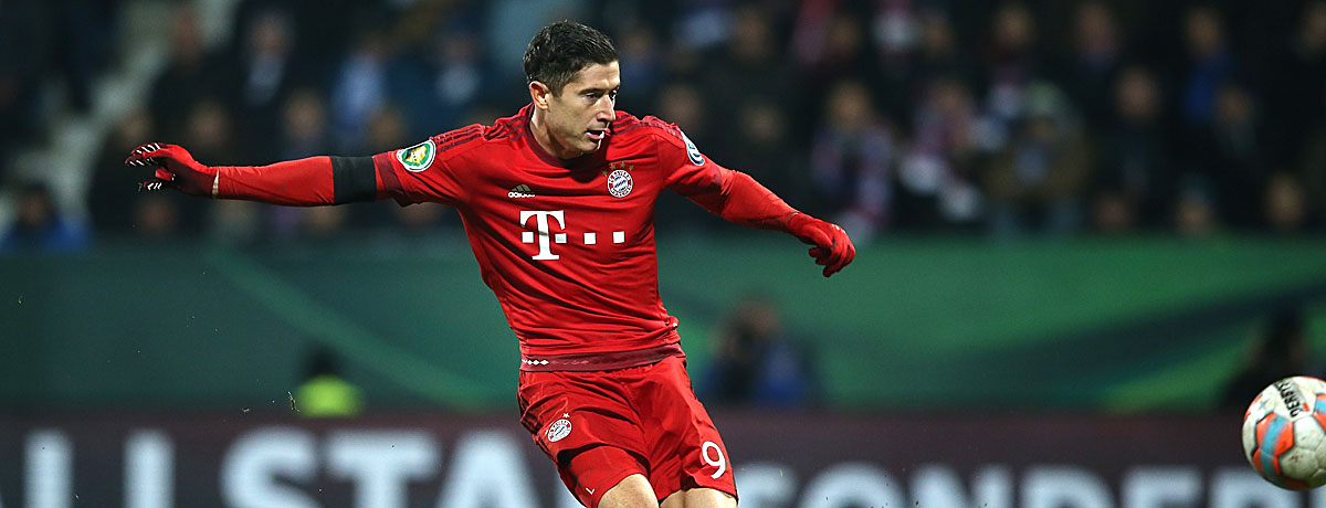 Robert Lewandowski FC Bayern Bundesliga