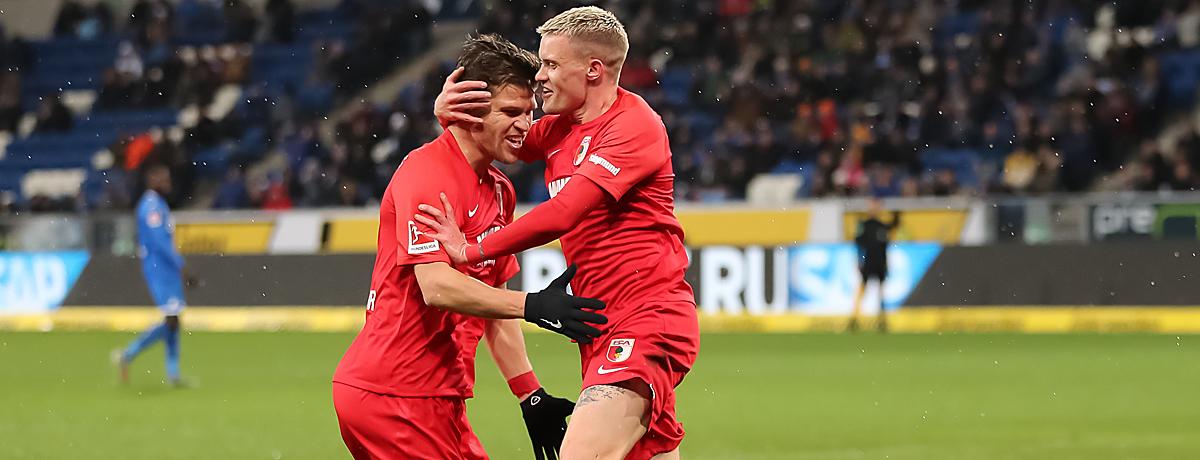 Florian Niederlechner FC Augsburg