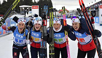 Biathlon WM 2020: 11 Tage Spektakel in Italien