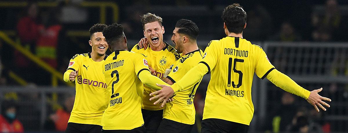 Bundesliga: BVB stellt Vereinsrekord auf und Liga-Bestwert ein