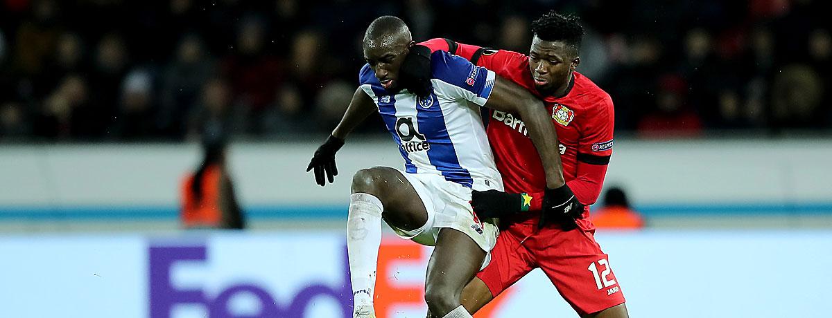 FC Porto - Bayer Leverkusen: Werkself kann in Portugal bestehen
