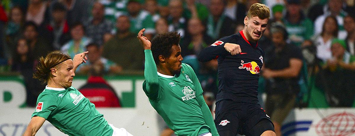 RB Leipzig - Werder Bremen: Pflichtaufgabe für RB