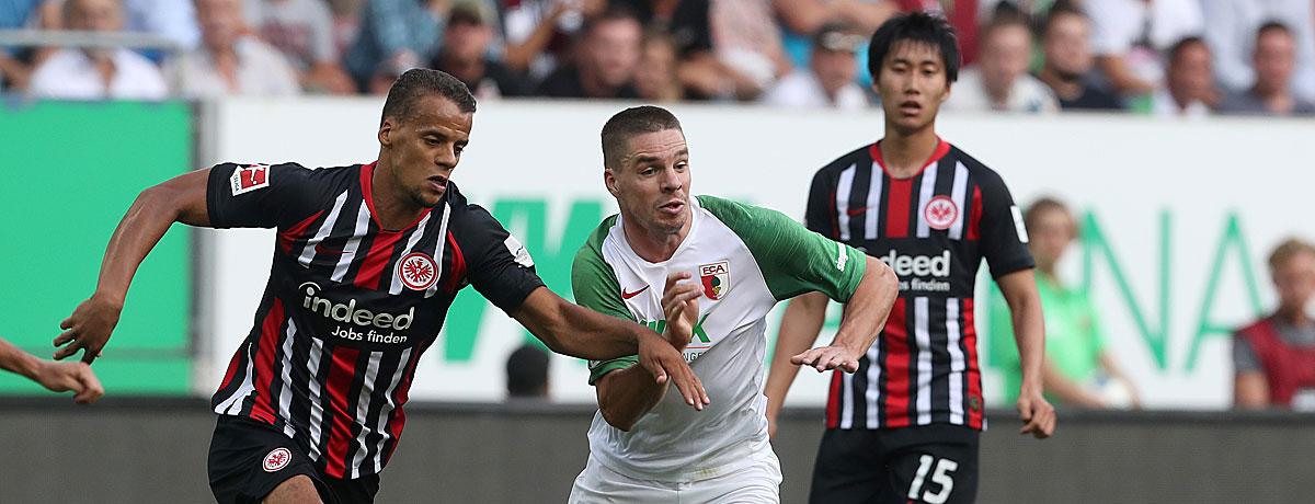 Eintracht Frankfurt - FC Augsburg: FCA trotzt SGE-Heimstärke