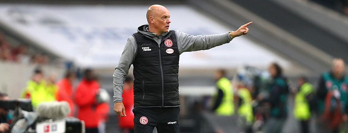 Fortuna Düsseldorf - Borussia Mönchengladbach: Rösler will den ersten Sieg