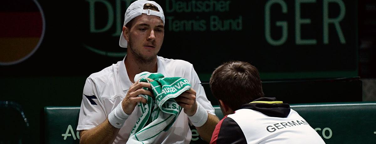 Davis Cup: Deutschland trifft auf Djokovic und Thiem