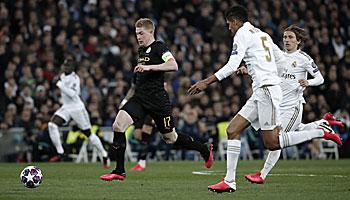 Manchester City – Real Madrid: Die Königlichen benötigen ein kleines Wunder