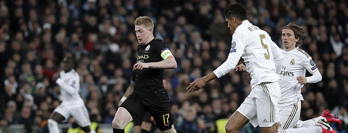 Manchester City - Real Madrid Champions League Rückspiel