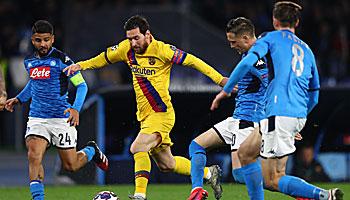FC Barcelona – SSC Neapel: Viel spricht nicht für die Italiener