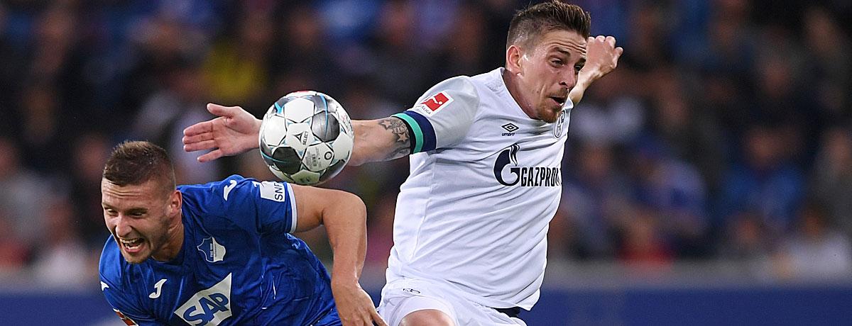 Schalke 04 - TSG Hoffenheim: Königsblau kämpft gegen die Krise