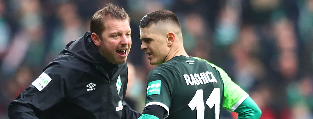 Florian Kohfeldt Werder Bremen Abstiegskampf