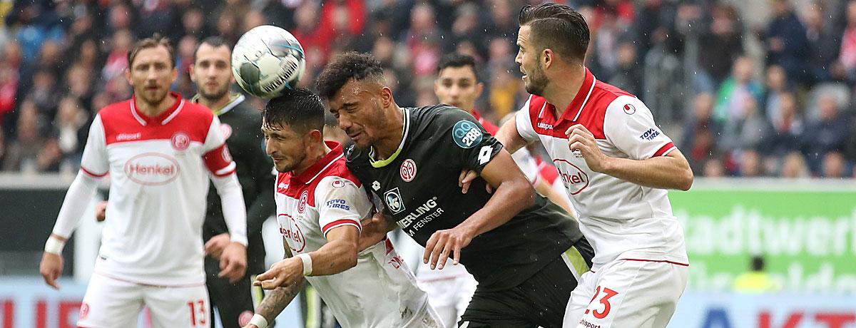 FSV Mainz 05 - Fortuna Düsseldorf: Nullfünfern winkt Big Point