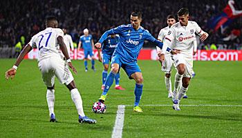 Juventus Turin – Olympique Lyon: Der Titelkandidat muss liefern