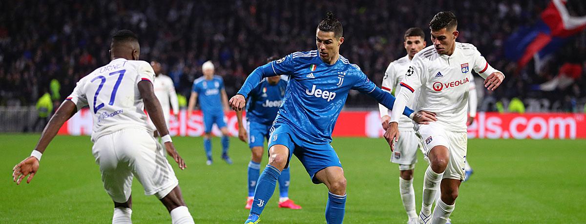 Juventus Turin - Olympique Lyon: Der Titelkandidat muss liefern