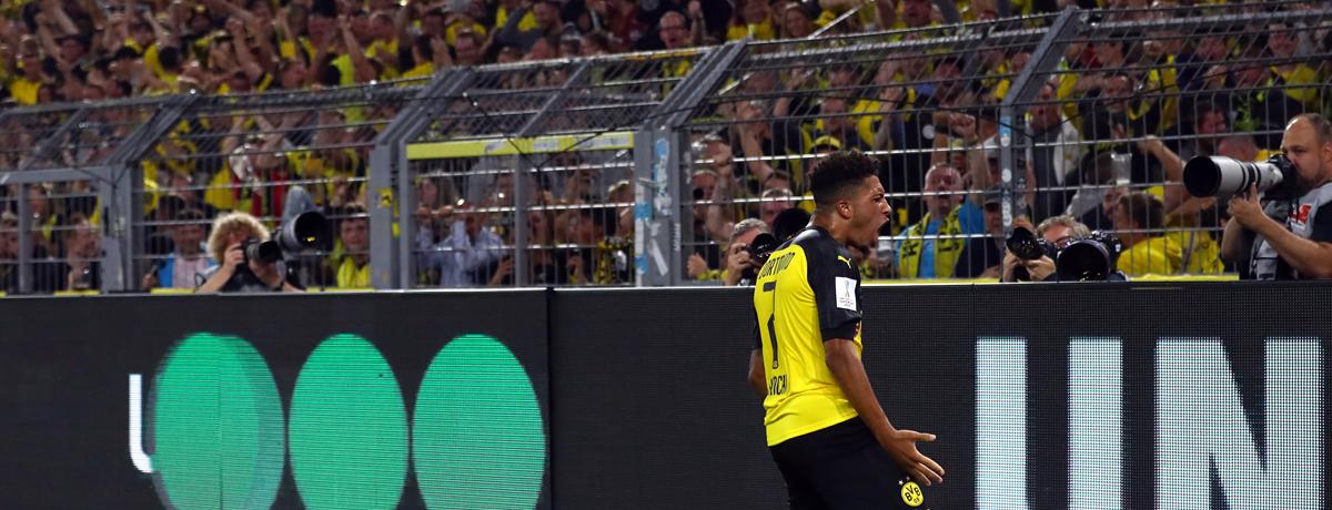 Jadon Sancho: Der Ausnahme-Kicker des BVB feiert