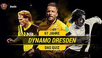 67 Jahre Dynamo Dresden: Das große Geburtstags-Quiz