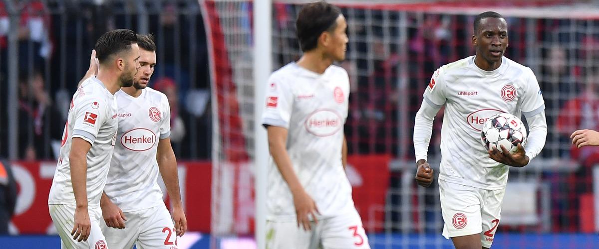 Bayern gegen Düsseldorf 3:3