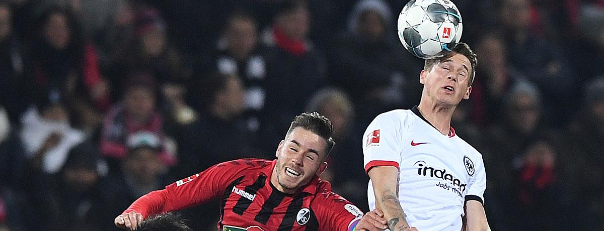 Eintracht Frankfurt - SC Freiburg Bundesliga 2019/20 Rückspiel