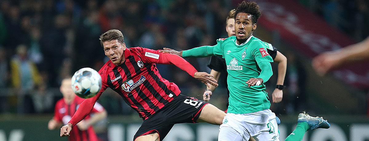 SC Freiburg - Werder Bremen: SVW setzt auf Auswärtsstärke