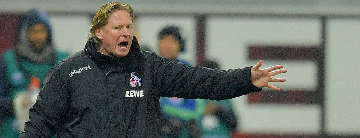 Markus Gisdol 1. FC Köln Bundesliga 2019/20