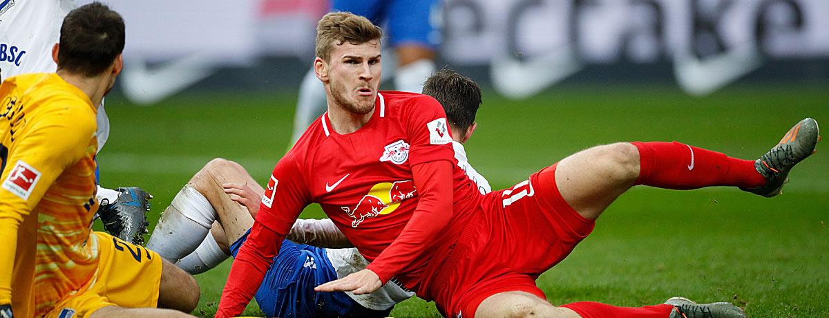 RB Leipzig - Hertha BSC Bundesliga 2019/20